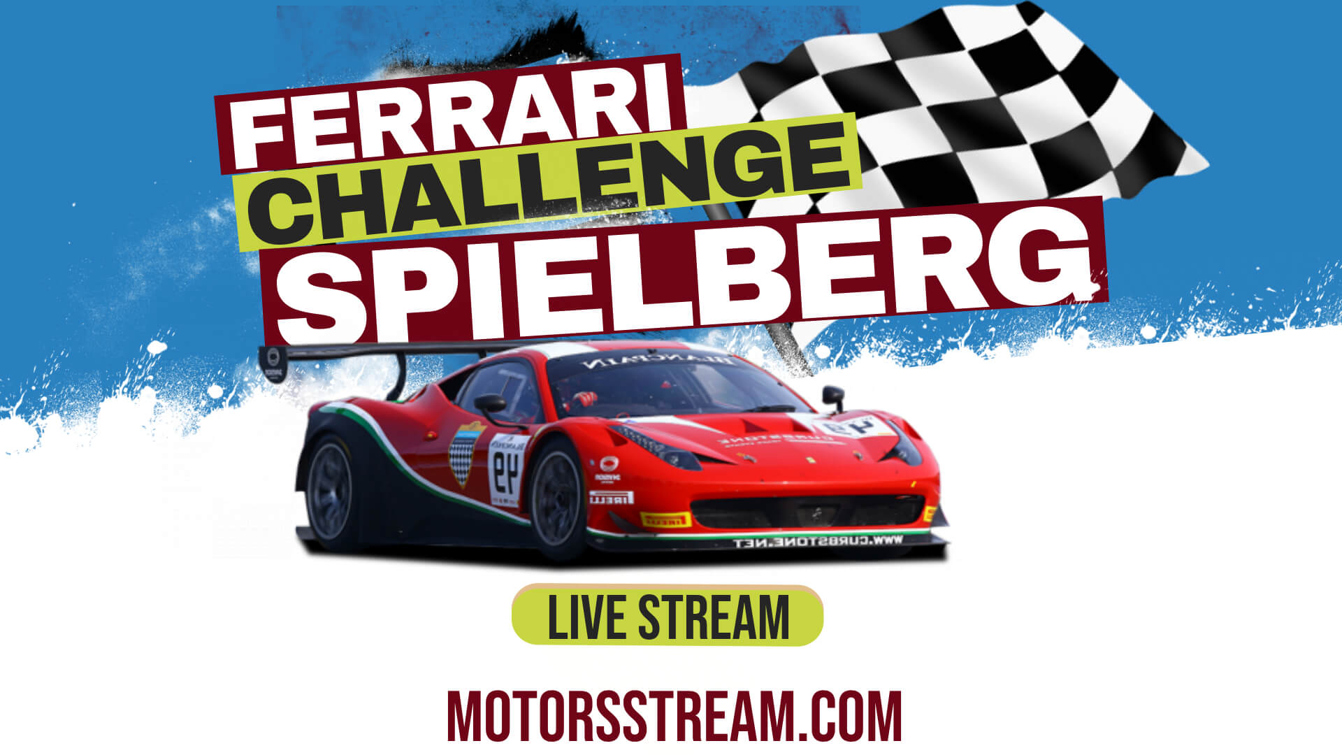 Spielberg Ferrari Challenge Live Stream