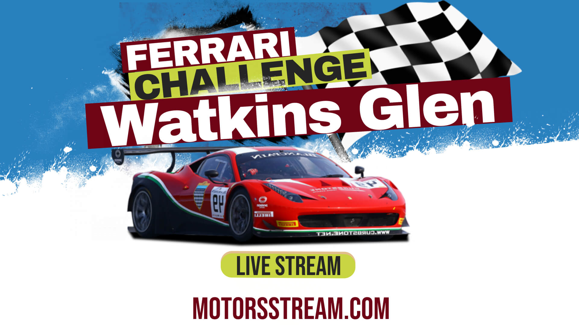 Ferrari Watkins Glen Live Stream