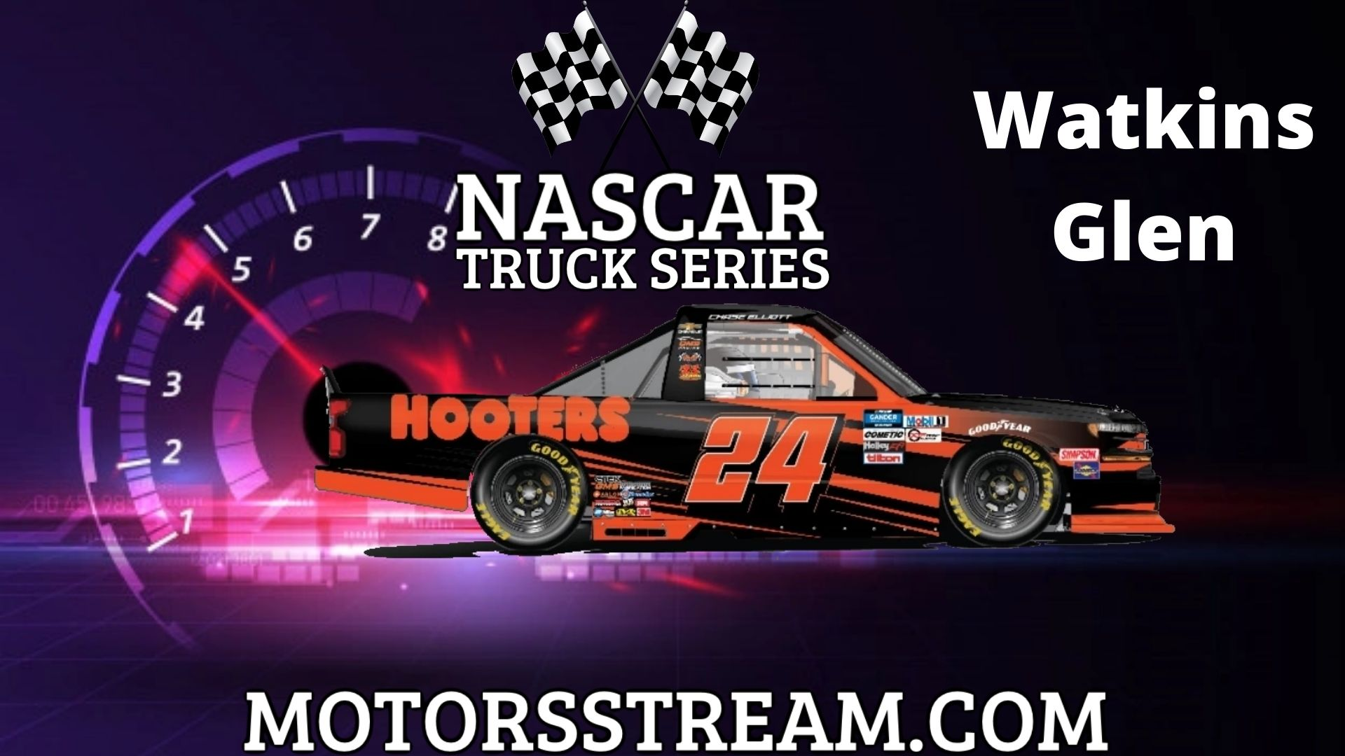 NASCAR Truck Series at The Glen Live Stream