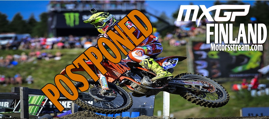 MXGP of Finland Delayed to 2022