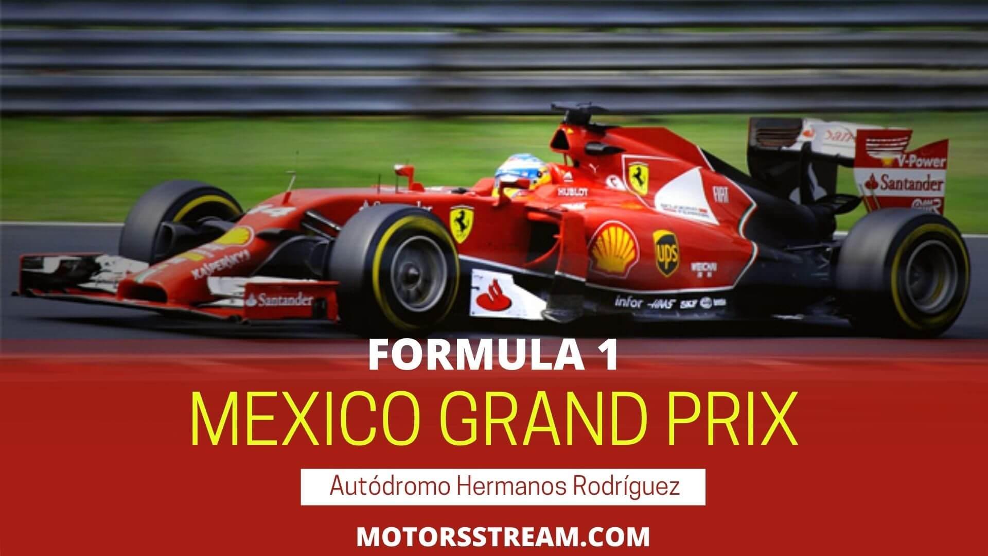 F1 Mexico GP Live Stream 2021 | Race Replay