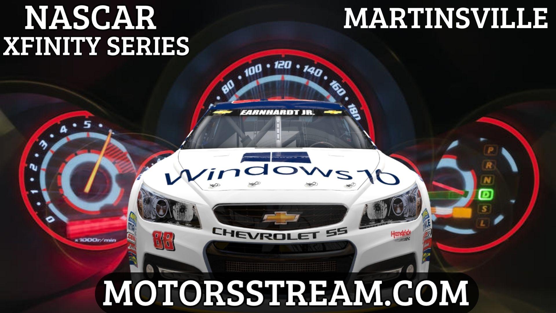 NASCAR Xfinity Martinsville Playoff Race Live Stream
