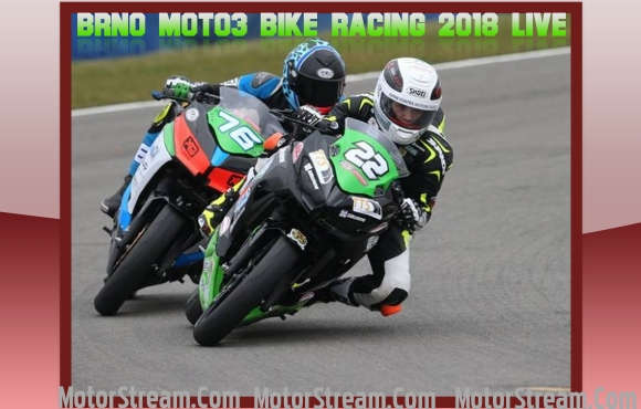 Brno Moto3 Bike Racing 2018 Live Online
