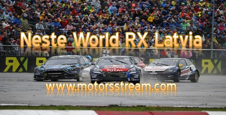 Live Neste World RX Latvia