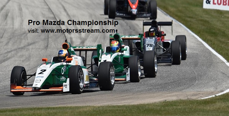 Live Pro Mazda Championship at Portland