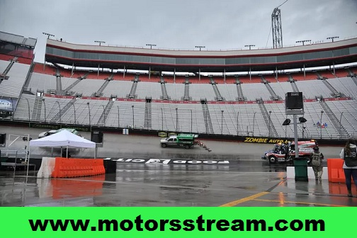 NASCAR Cup Series Race at Bristol 2017 Postponed