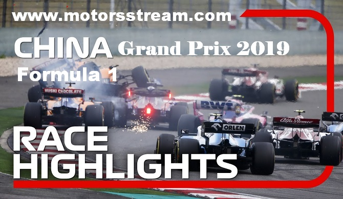 2019 Chinese Grand Prix Race Highlights