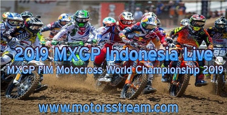 FIM Motocross WC Indonesia Live Stream 2021 | MXGP