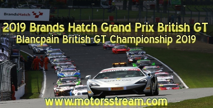 Brands Hatch Grand Prix Live Stream