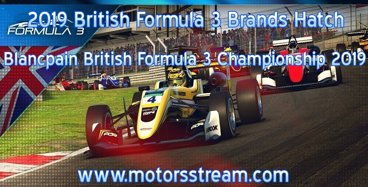 British Formula 3 Brands Hatch Live Stream