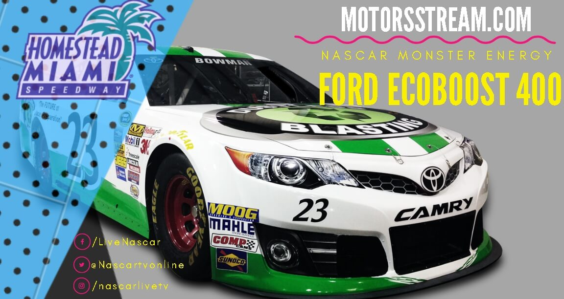 Ford Ecoboost 400 Live Full Race NASCAR Cup 2019