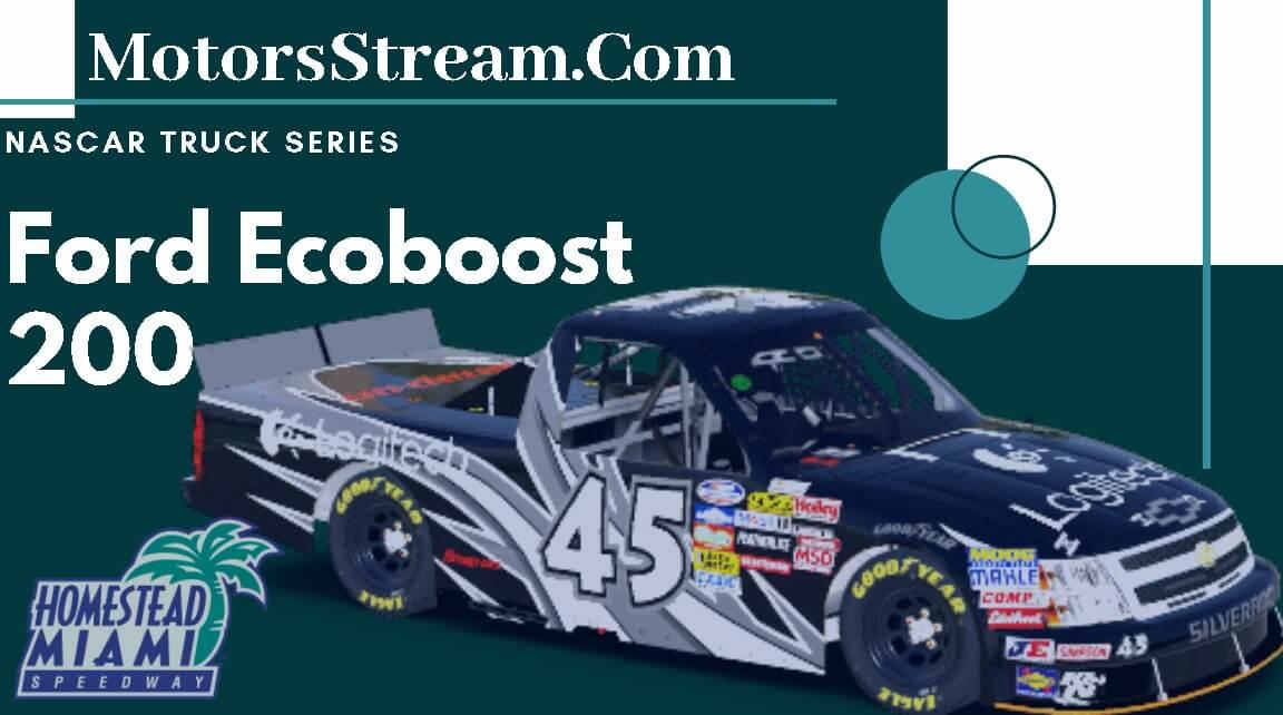 Ford Ecoboost 200 Live Full Race   Nascar Truck Series