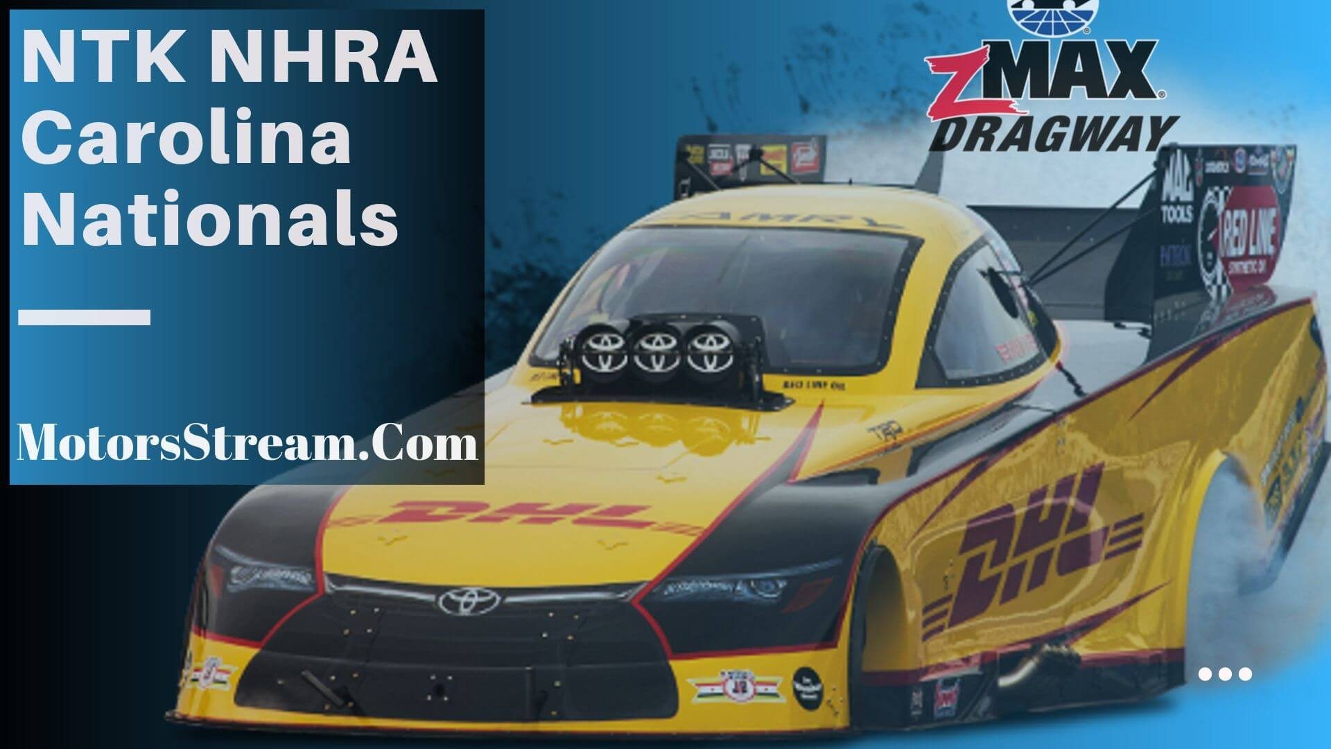 Live NHRA Carolina Nationals Streaming