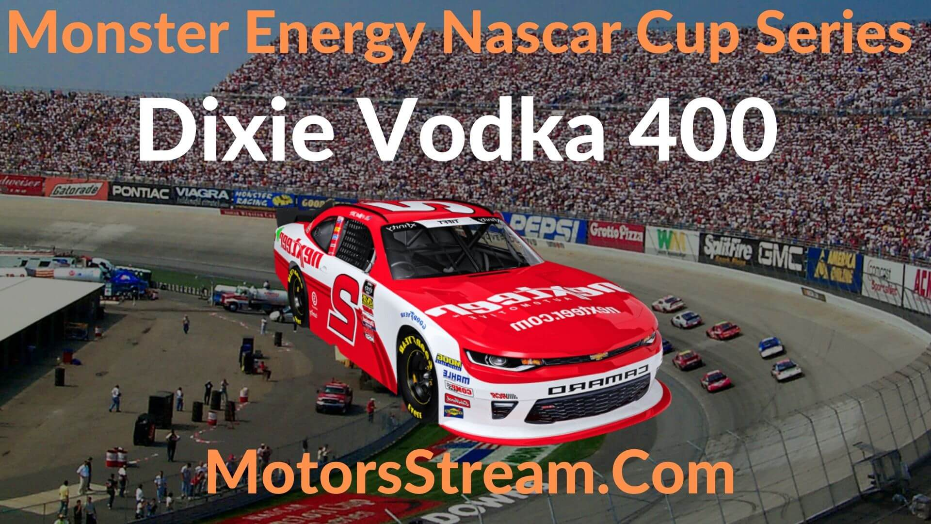 Dixie Vodka 400 Live Stream   NASCAR CUP 2020