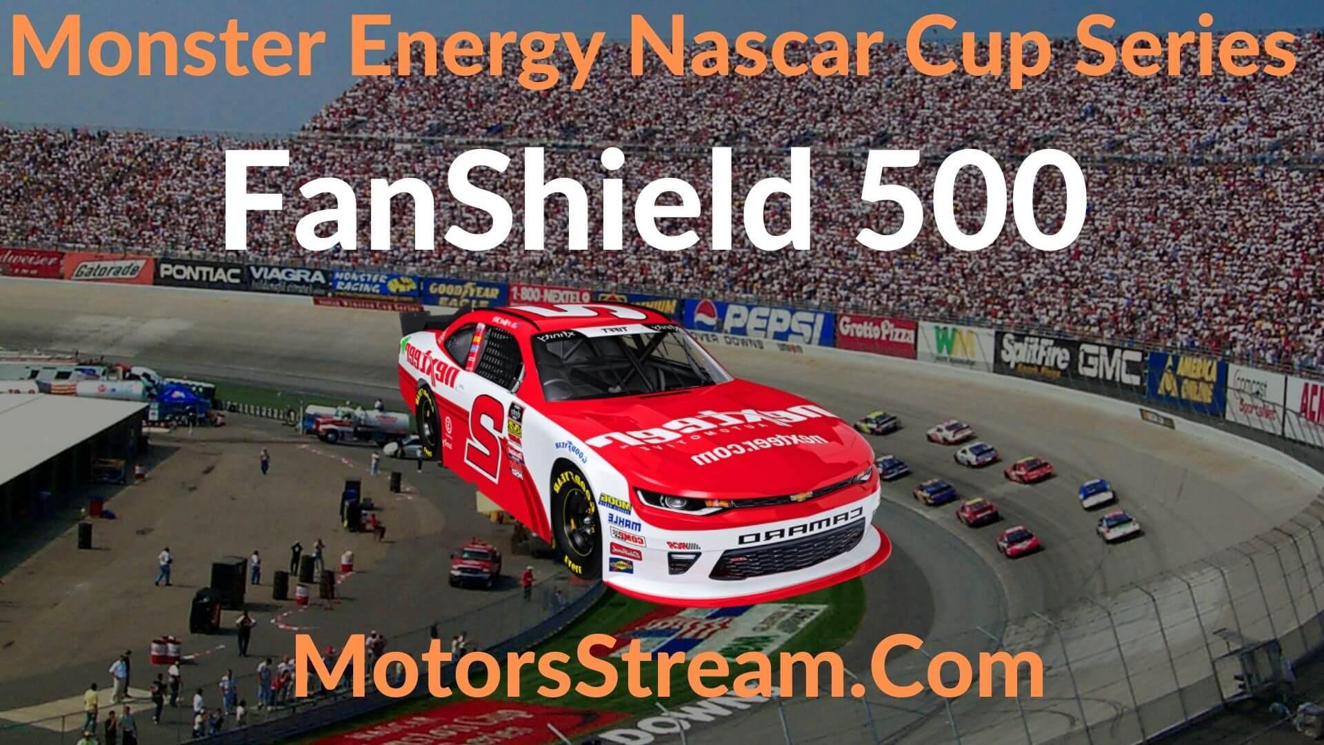 FanShield 500 Live Stream   NASCAR CUP 2020