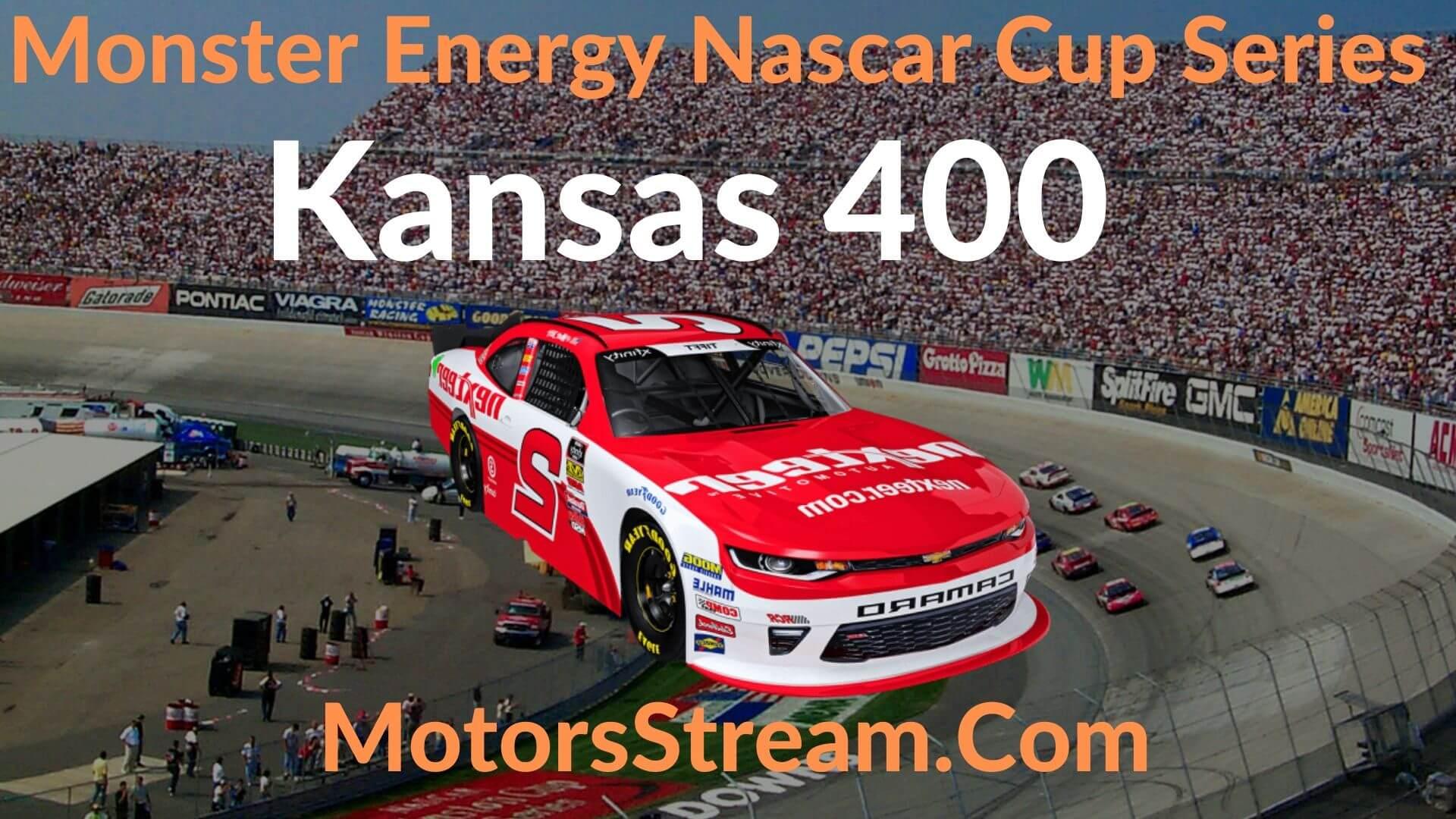 Kansas 400 Live Stream   NASCAR CUP 2020