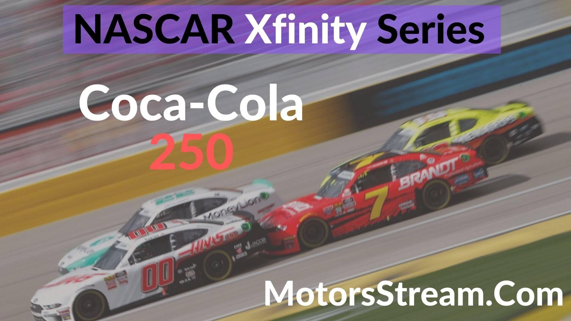 Coca-Cola 250 Live Stream   Xfinity Series 2020