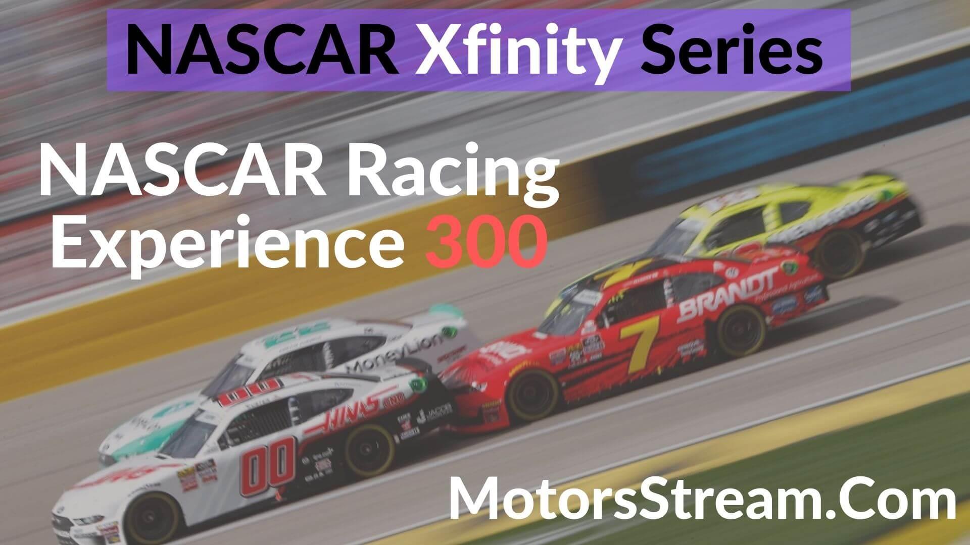 NASCAR Racing Experience 300 Live Stream    XFINITY SERIES 2020