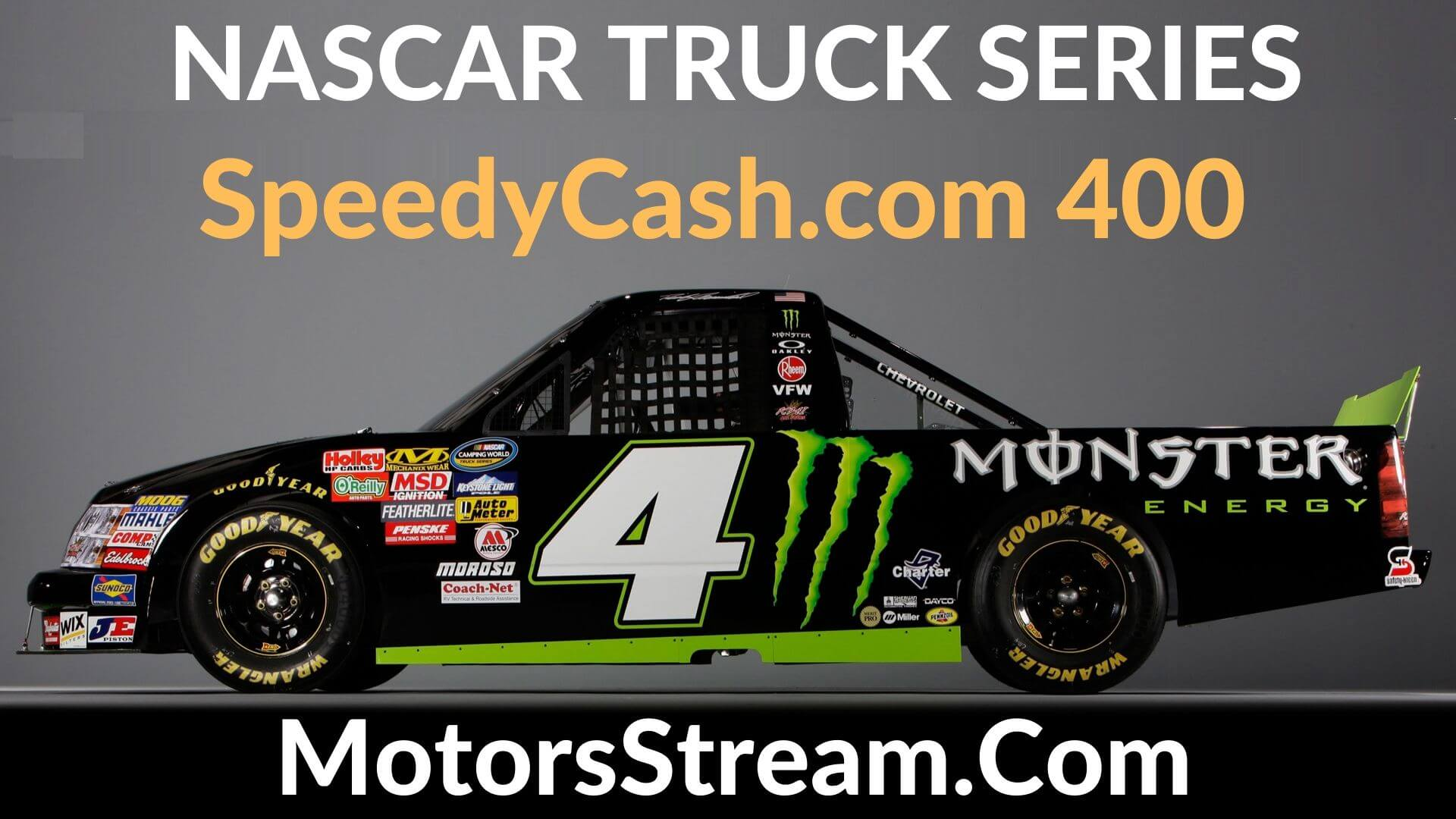 SpeedyCash.com 400 Live Stream | Nascar Truck Series 2020