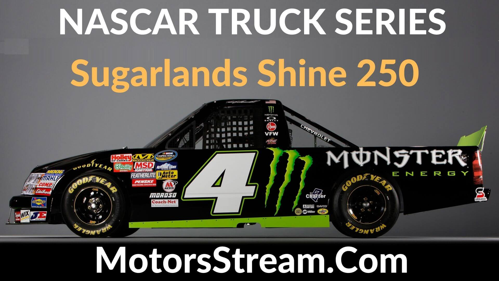 Sugarlands Shine 250 Live Stream | Nascar Truck Series 2020