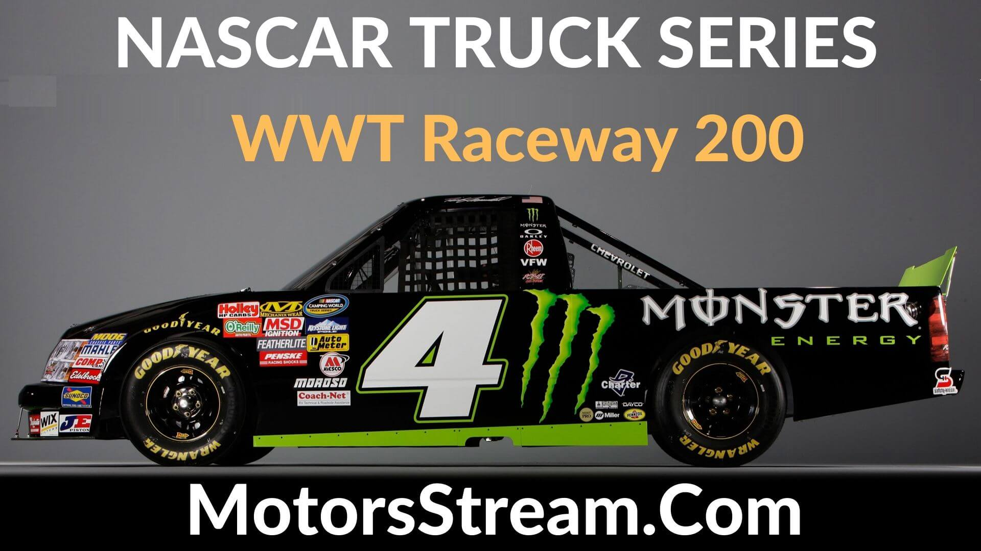 WWT Raceway 200 Live Stream   Nascar Truck Series 2020
