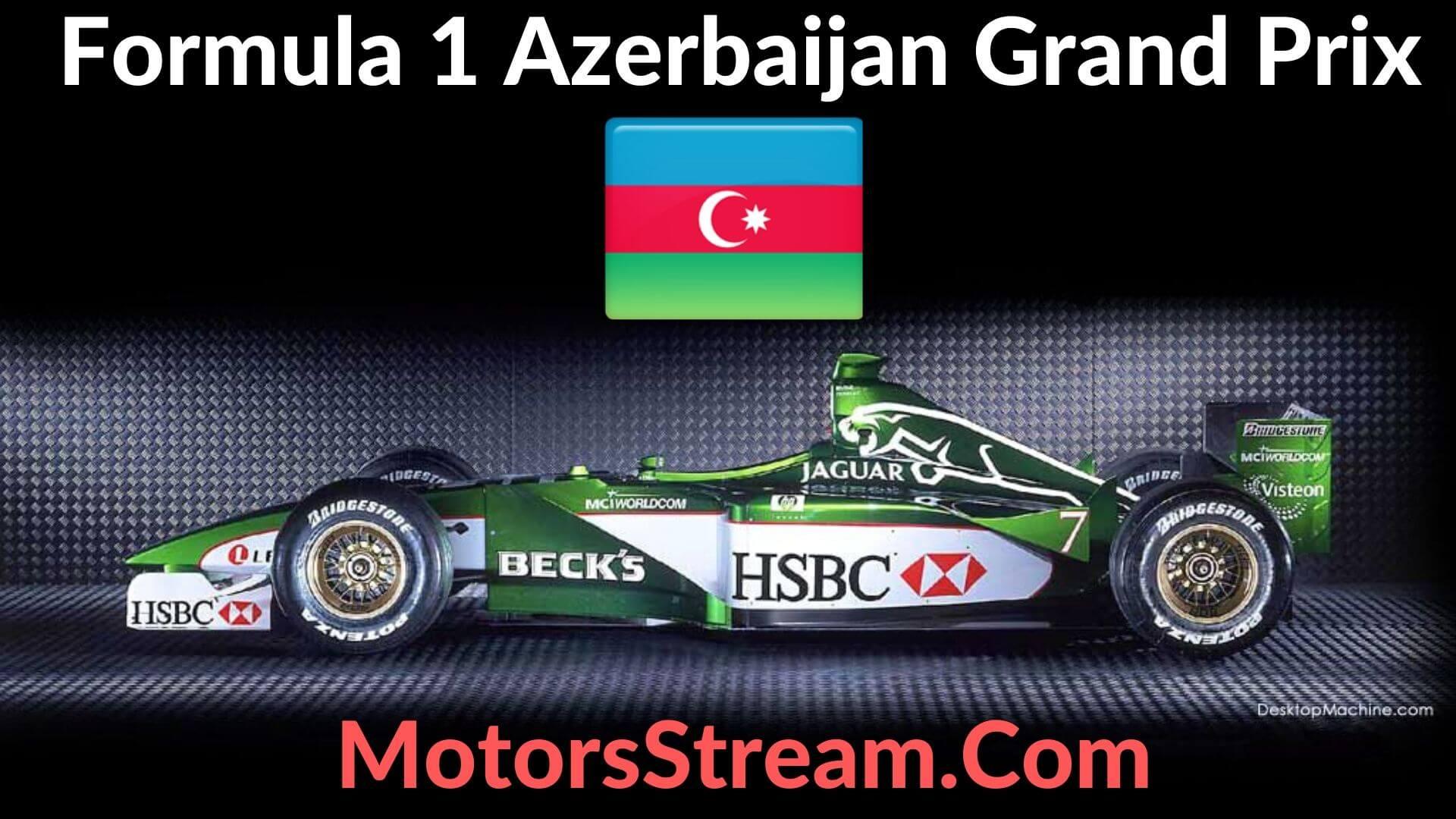 F1 Azerbaijan GP Live Stream 2021 | Race Replay
