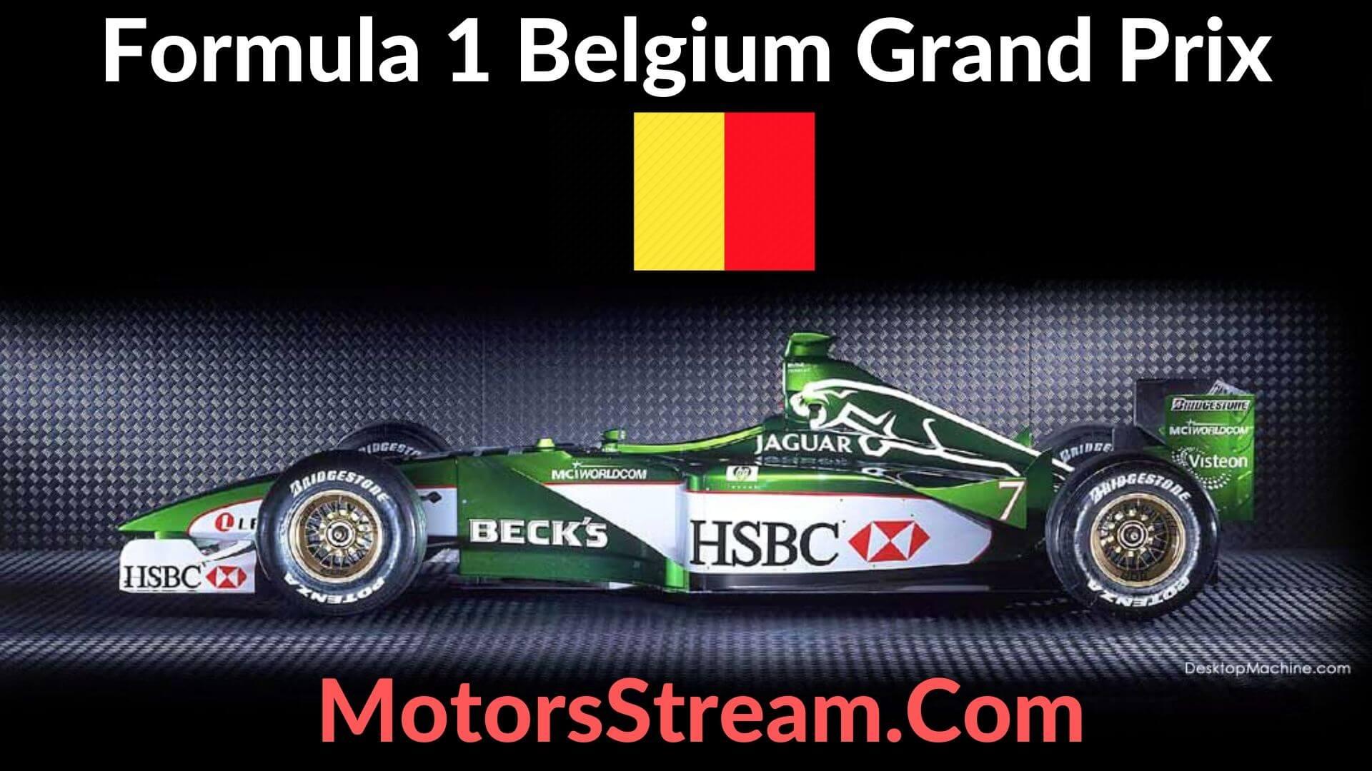 F1 Belgium GP Live Stream 2021 | Race Replay