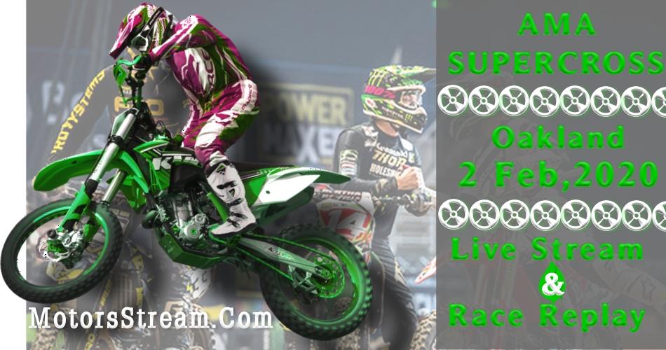 Oakland Supercross 2020 Live & Video Replay