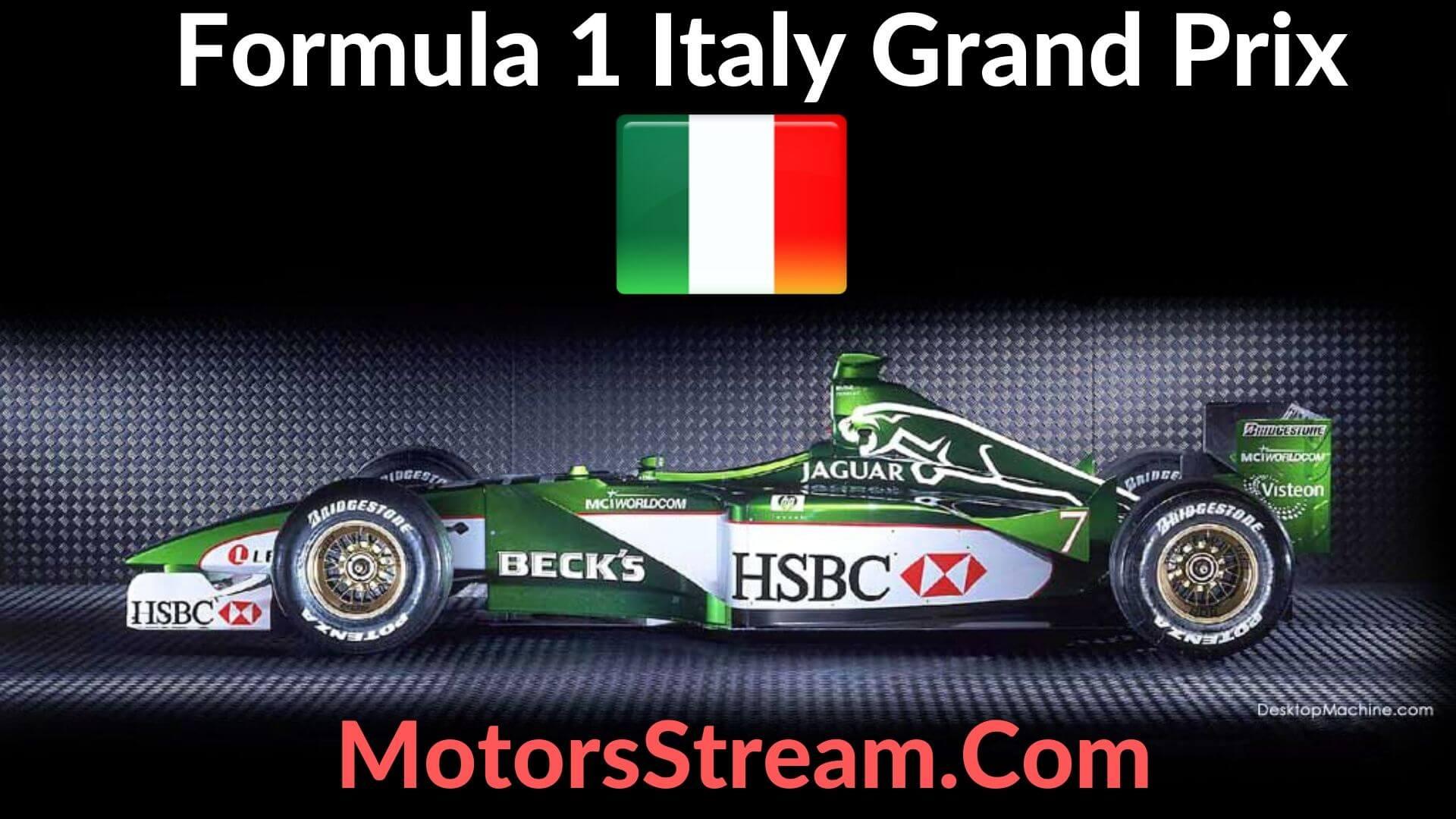 F1 Italian GP Live Stream 2021 | Race Replay