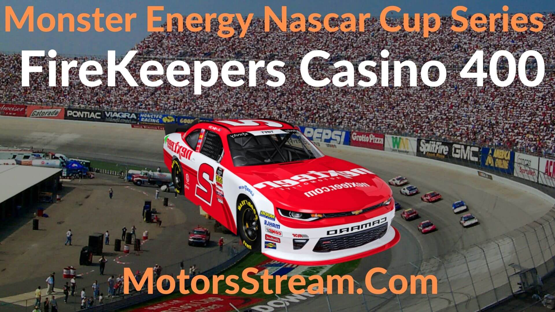 FireKeepers Casino 400 Live Stream   NASCAR CUP 2020