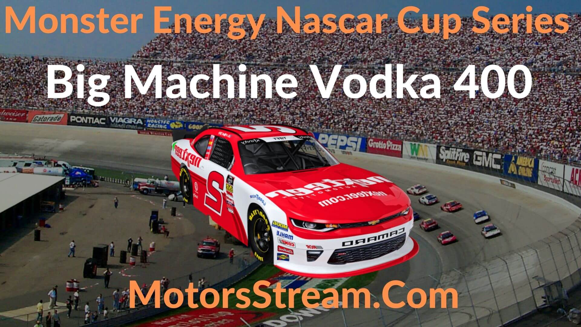 Big Machine Vodka 400 Live Stream | NASCAR CUP 2020