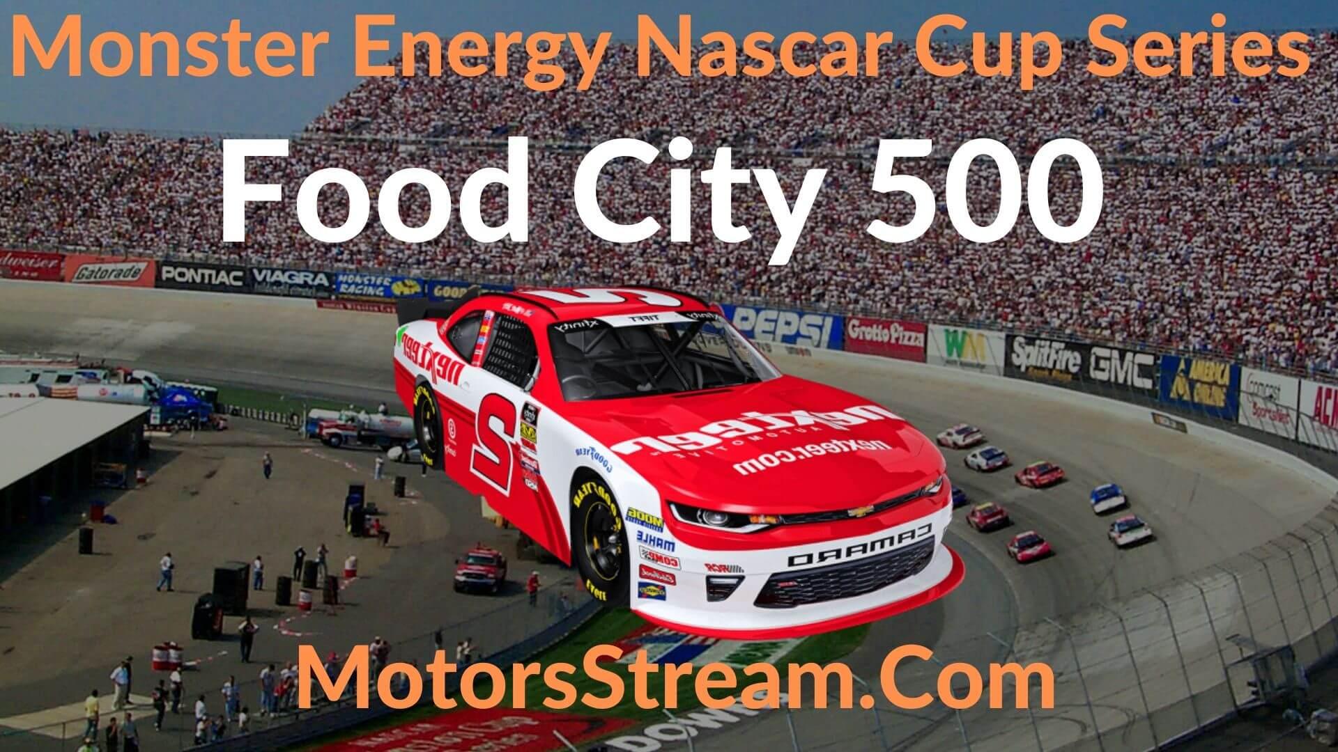 Food City 500 Live Stream   NASCAR CUP 2020