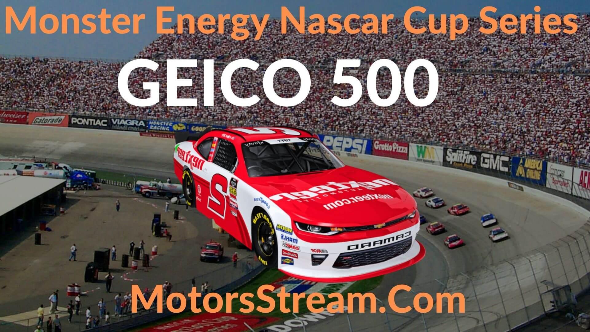 GEICO 500 Live Stream   NASCAR CUP 2020