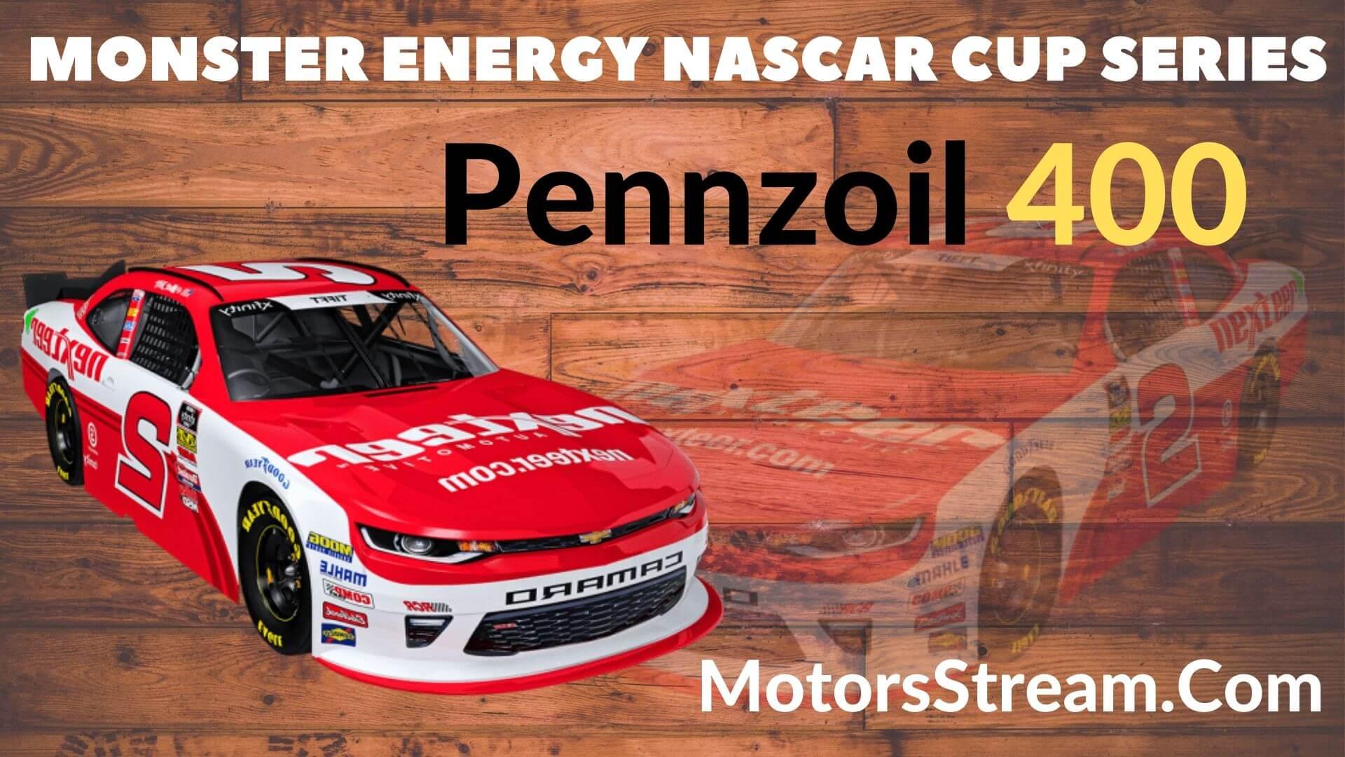 Pennzoil 400 Live Stream   NASCAR CUP  2020