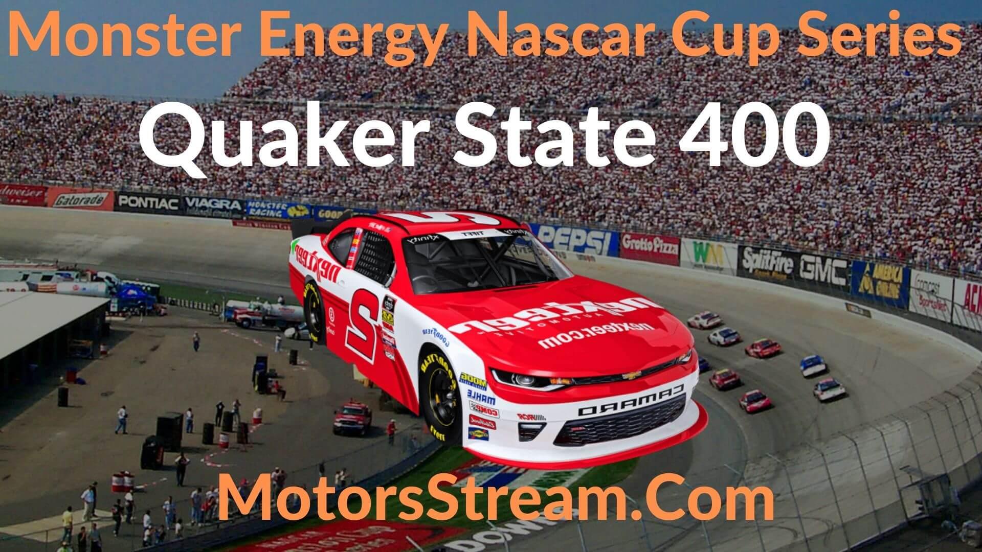 Quaker State 400 Live Stream   NASCAR CUP 2020