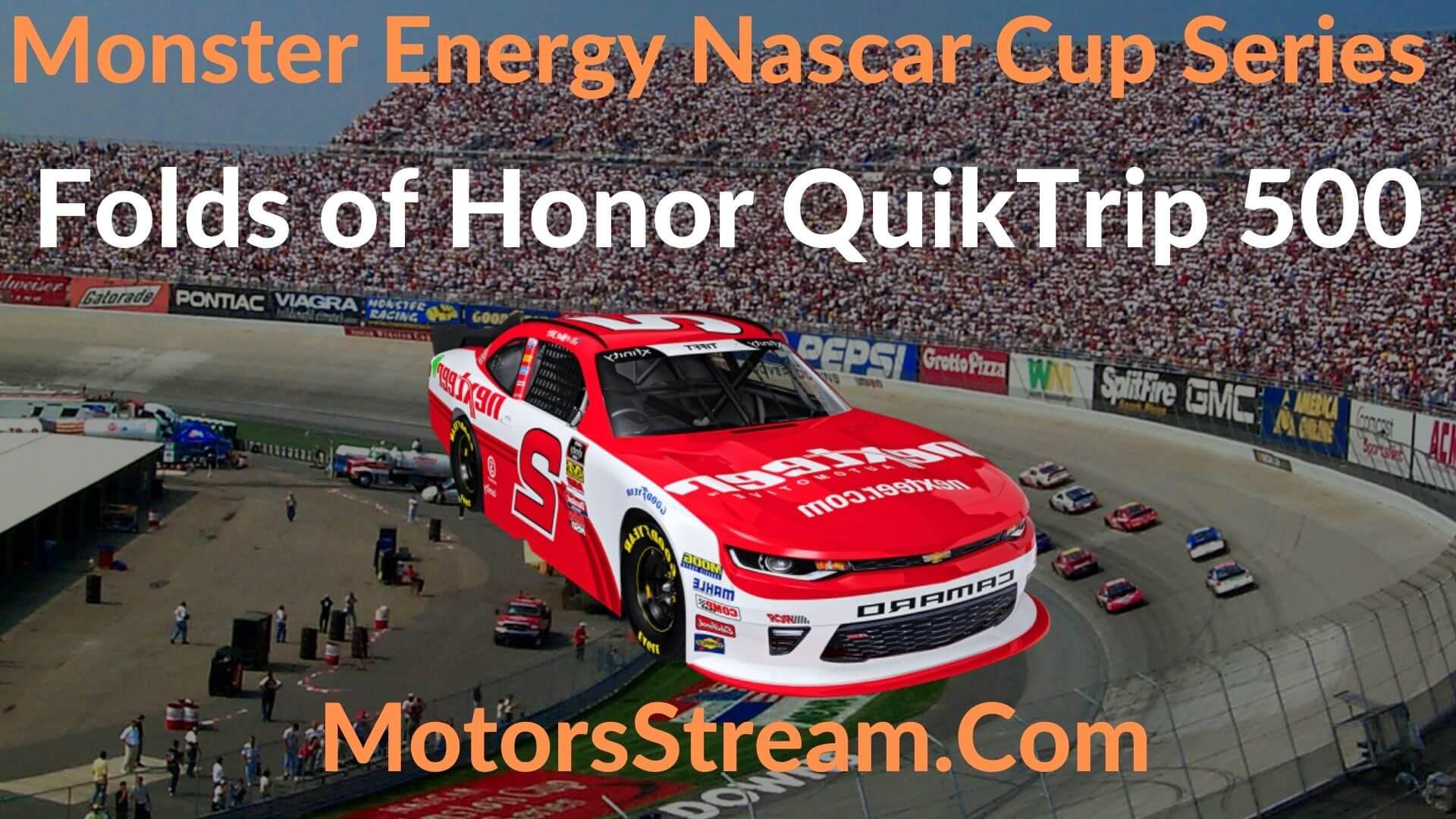 Folds of Honor QuikTrip 500 Live Stream   NASCAR CUP 2020