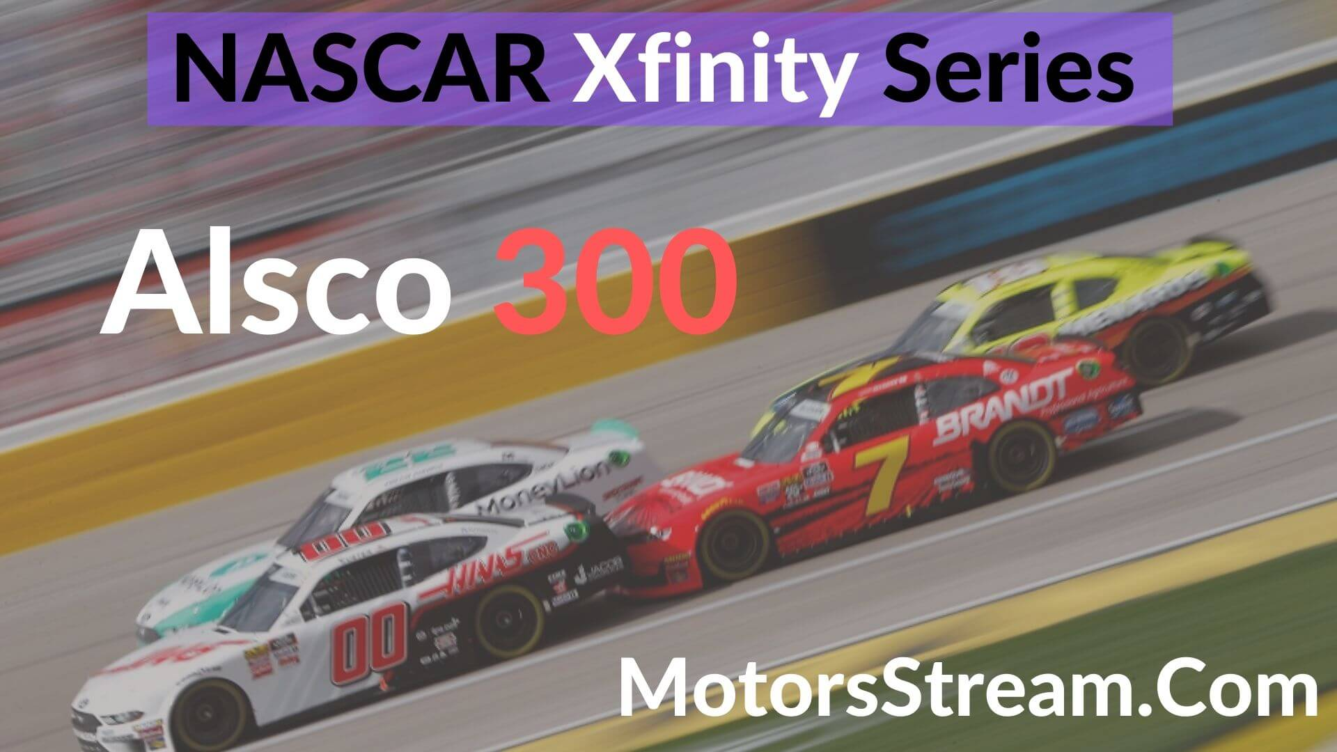 Alsco 300 Live Stream | Xfinity Series 2020