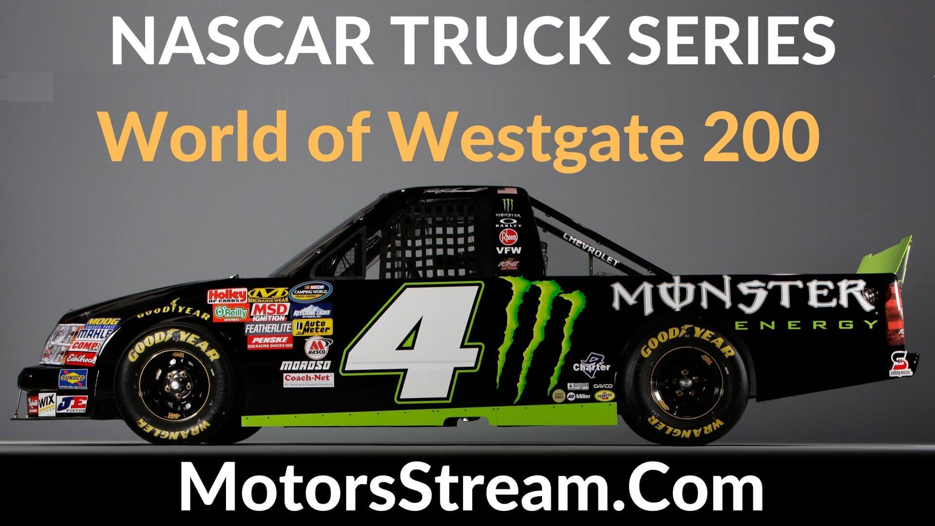 World of Westgate 200 Live Stream | Nascar Truck Series 2020