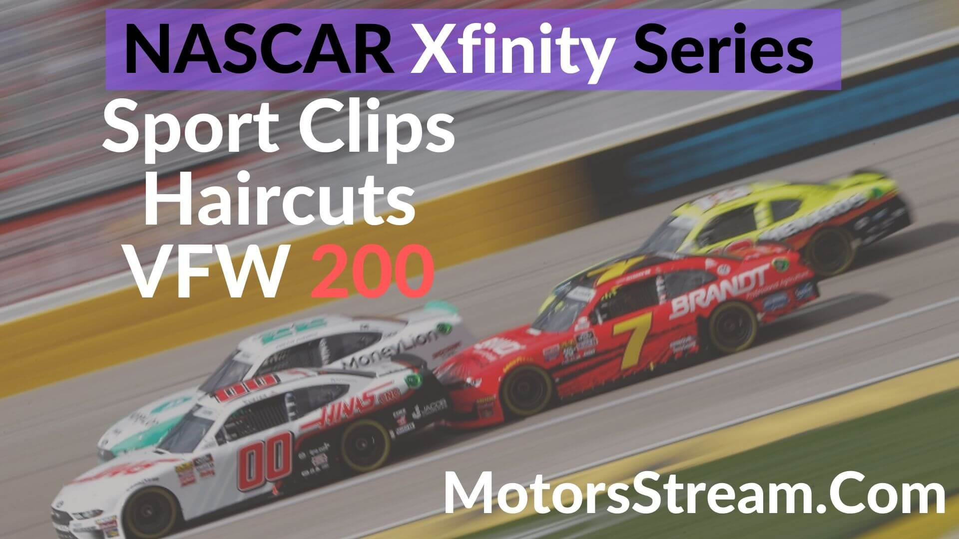 Sport Clips Haircuts VFW 200 Live Stream | Xfinity Series 2020