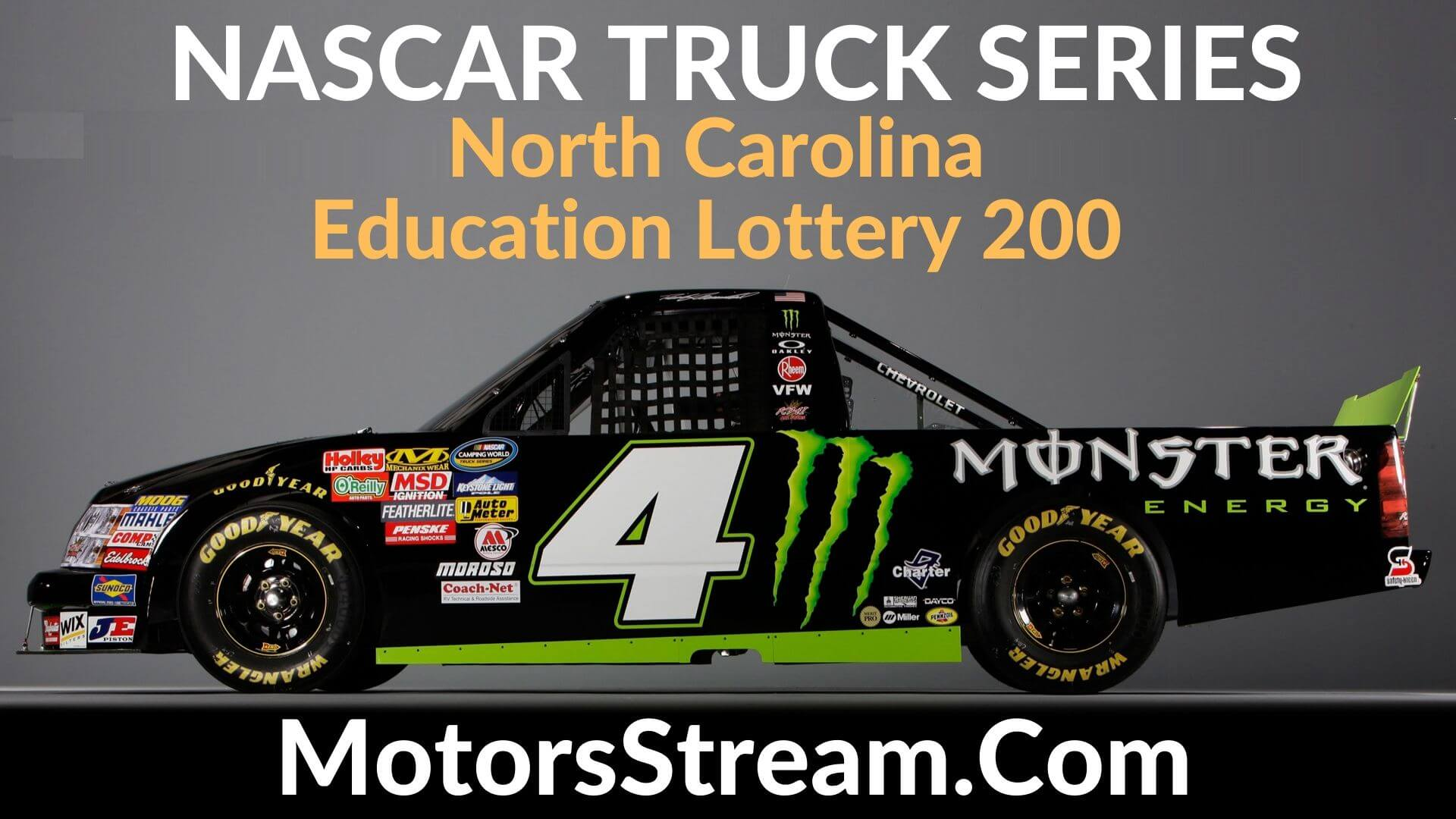 North Carolina Education Lottery 200 Live Stream | Nascar Truck Series 2020