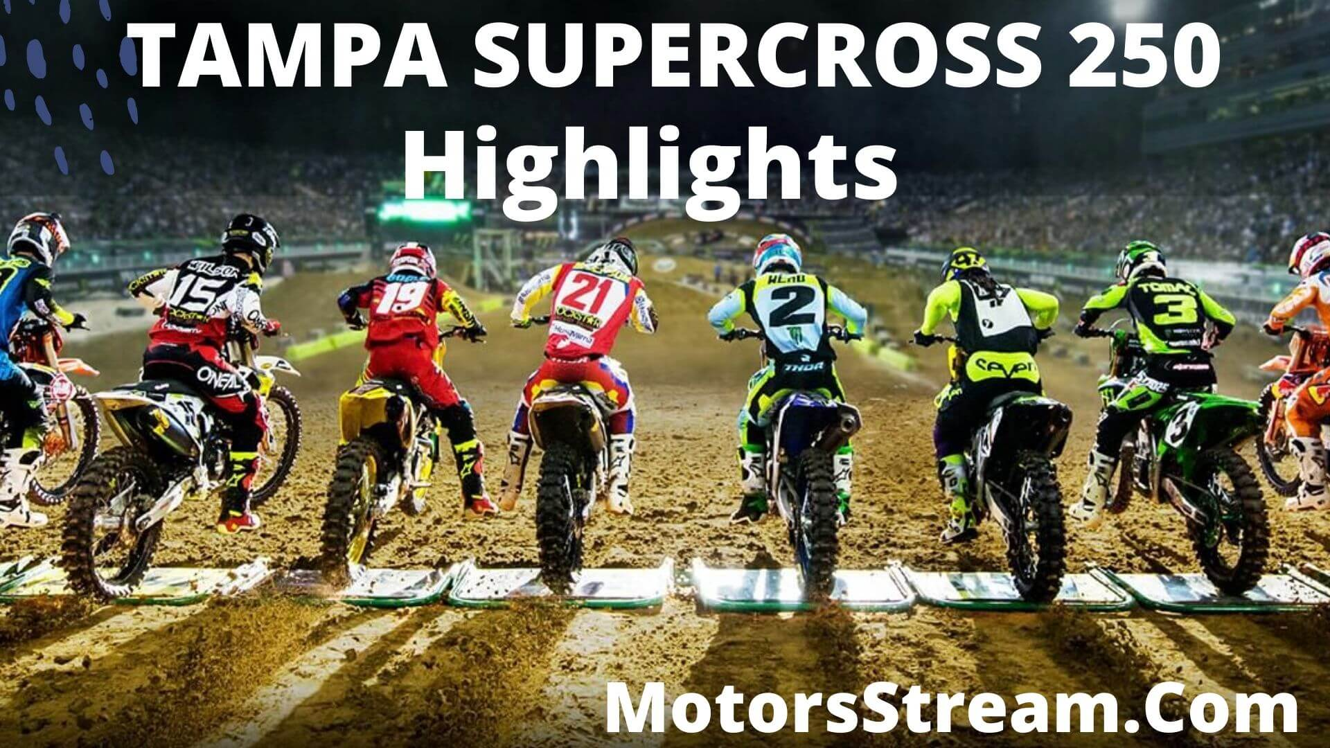 Tampa Supercross 250 Highlights 2020
