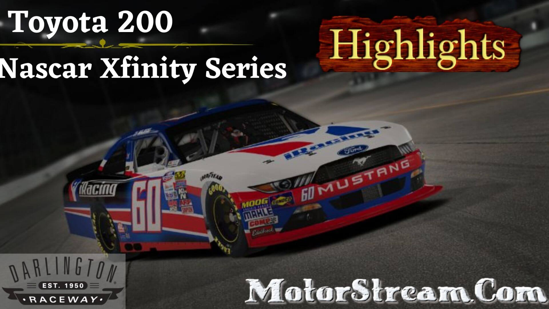 Toyota 200 Highlights 2020 Xfinity Series