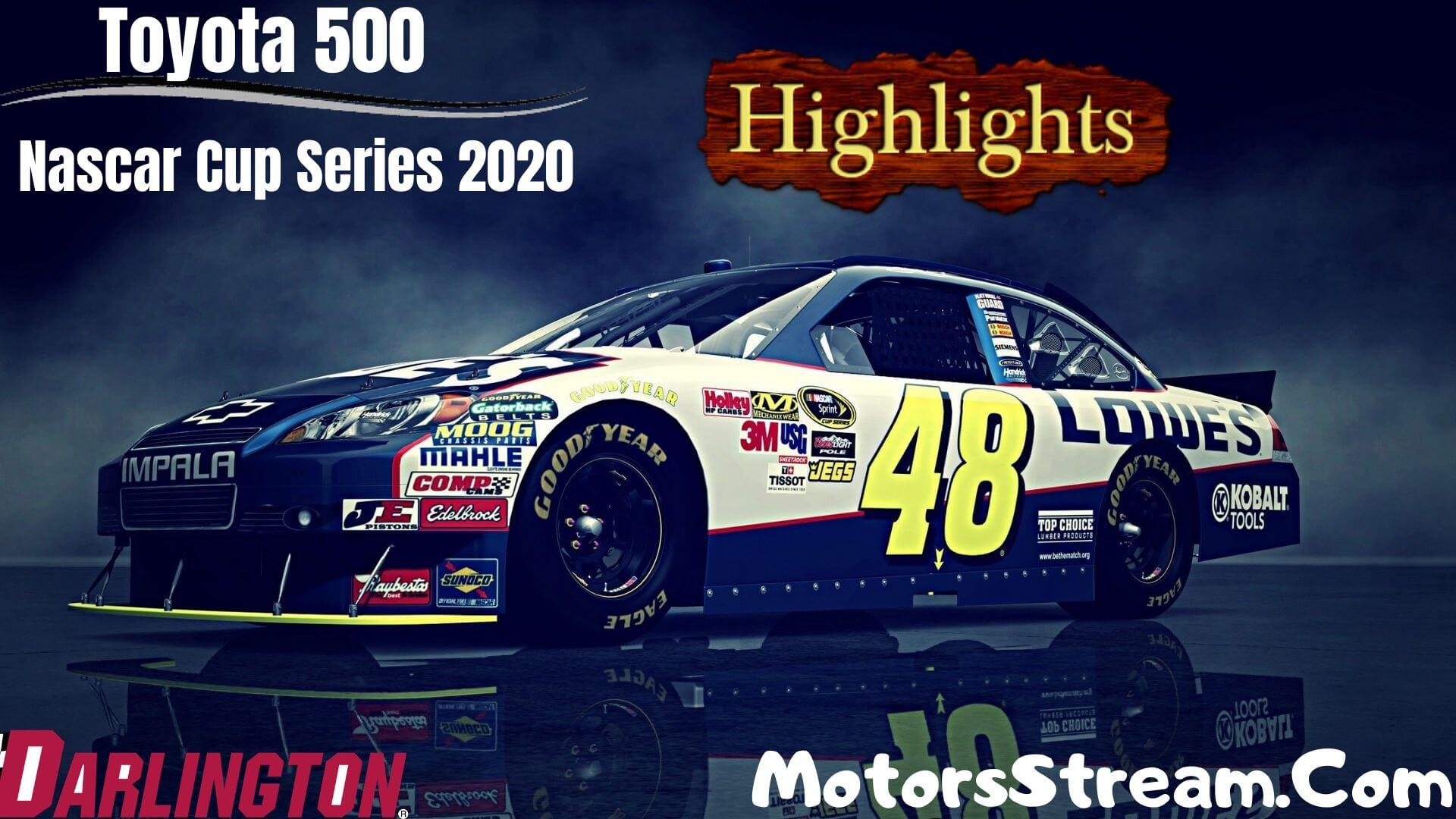 Toyota 500 Highlights 2020 Nascar Cup