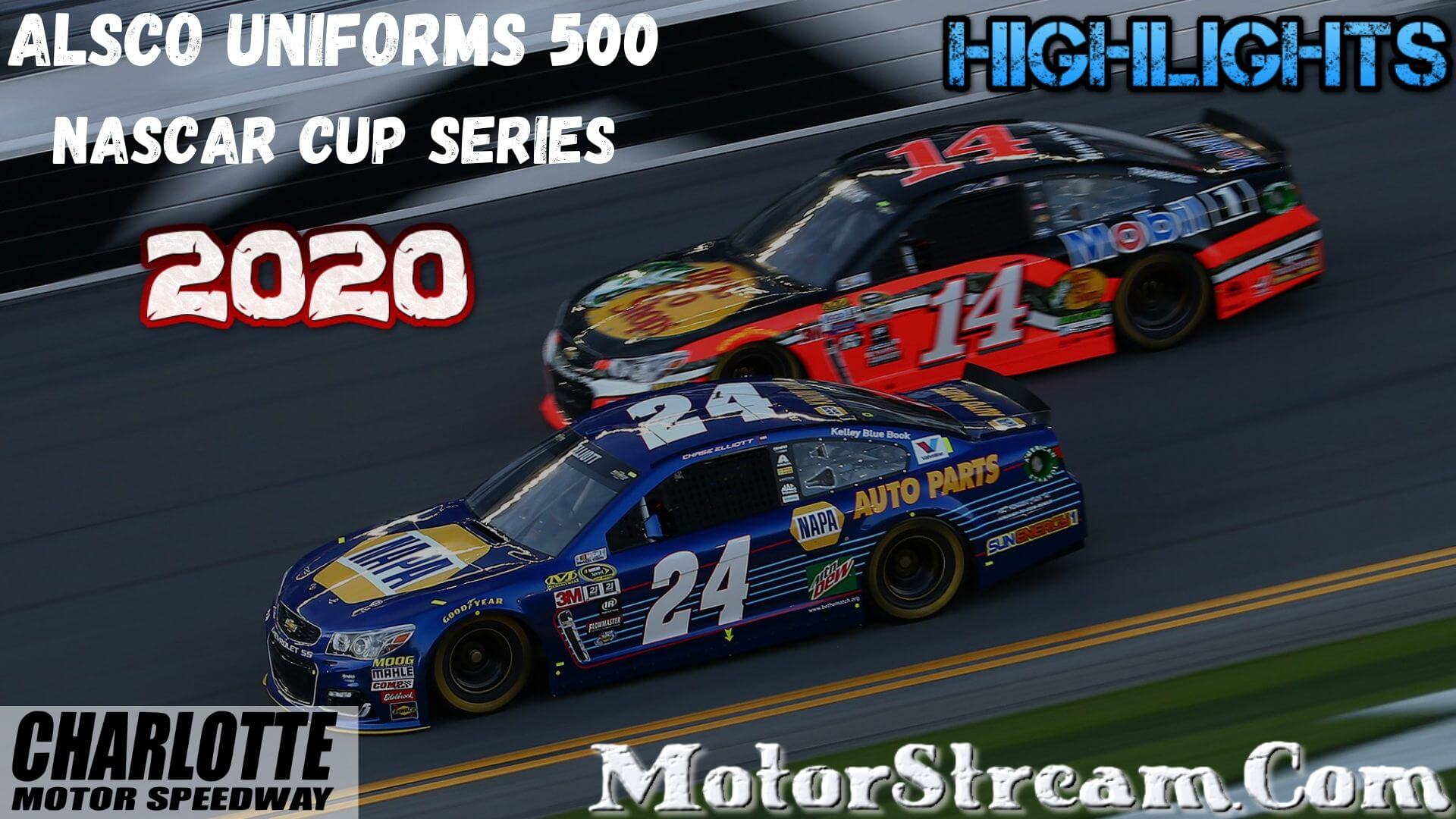 Alsco Uniforms 500 Highlights 2020 Cup Series