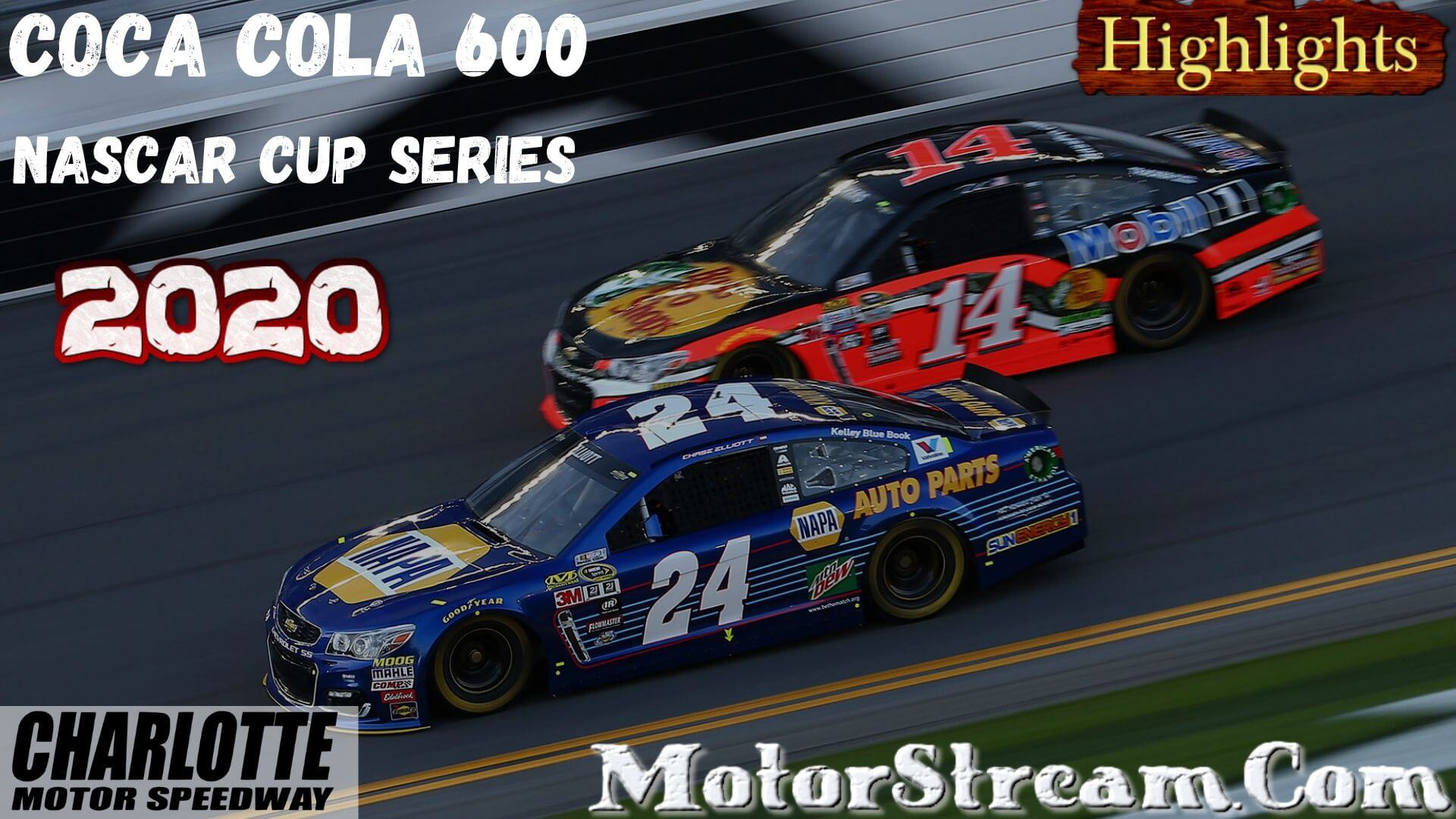 Coca Cola 600 Highlights 2020 Nascar Cup