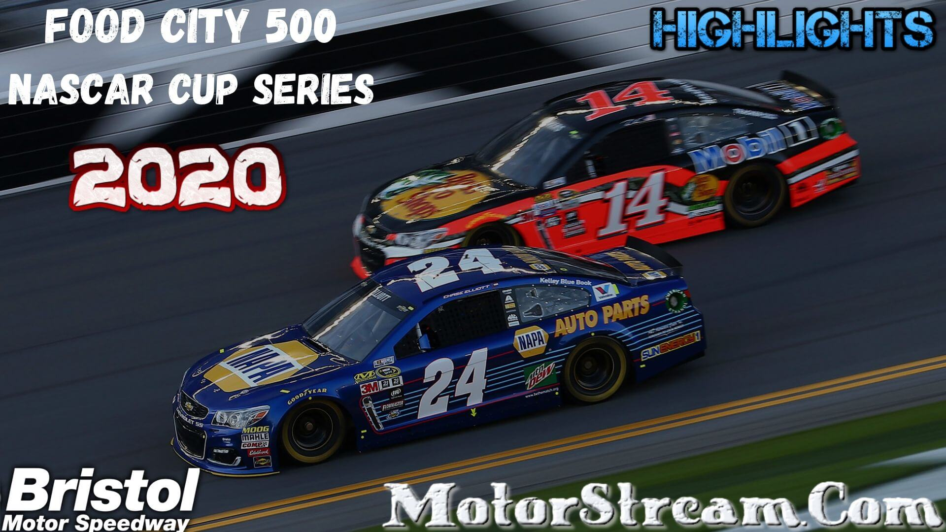 Food City 500 Highlights 2020 Cup Series