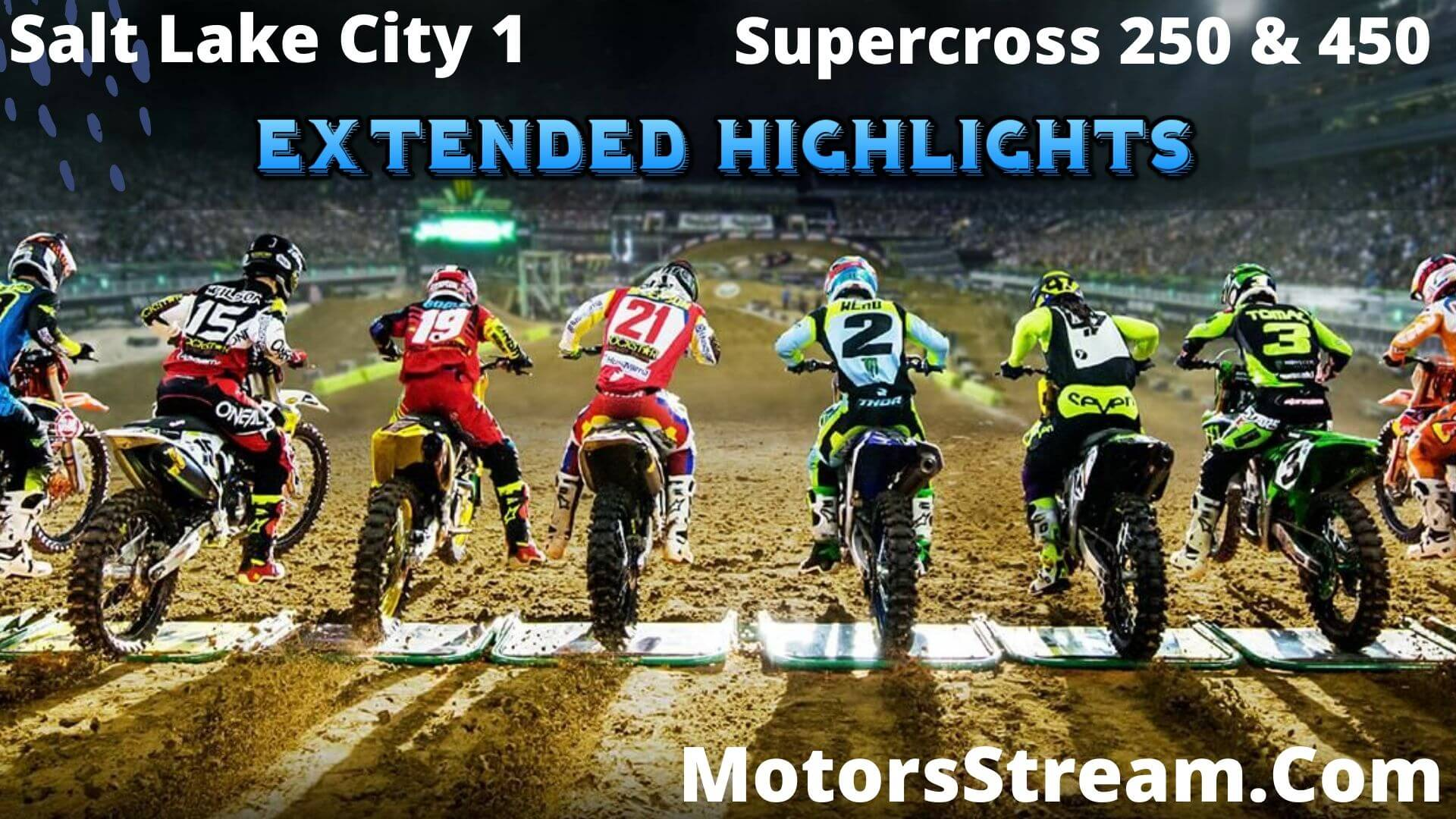 RD 11 Supercross Extended Highlights 2020