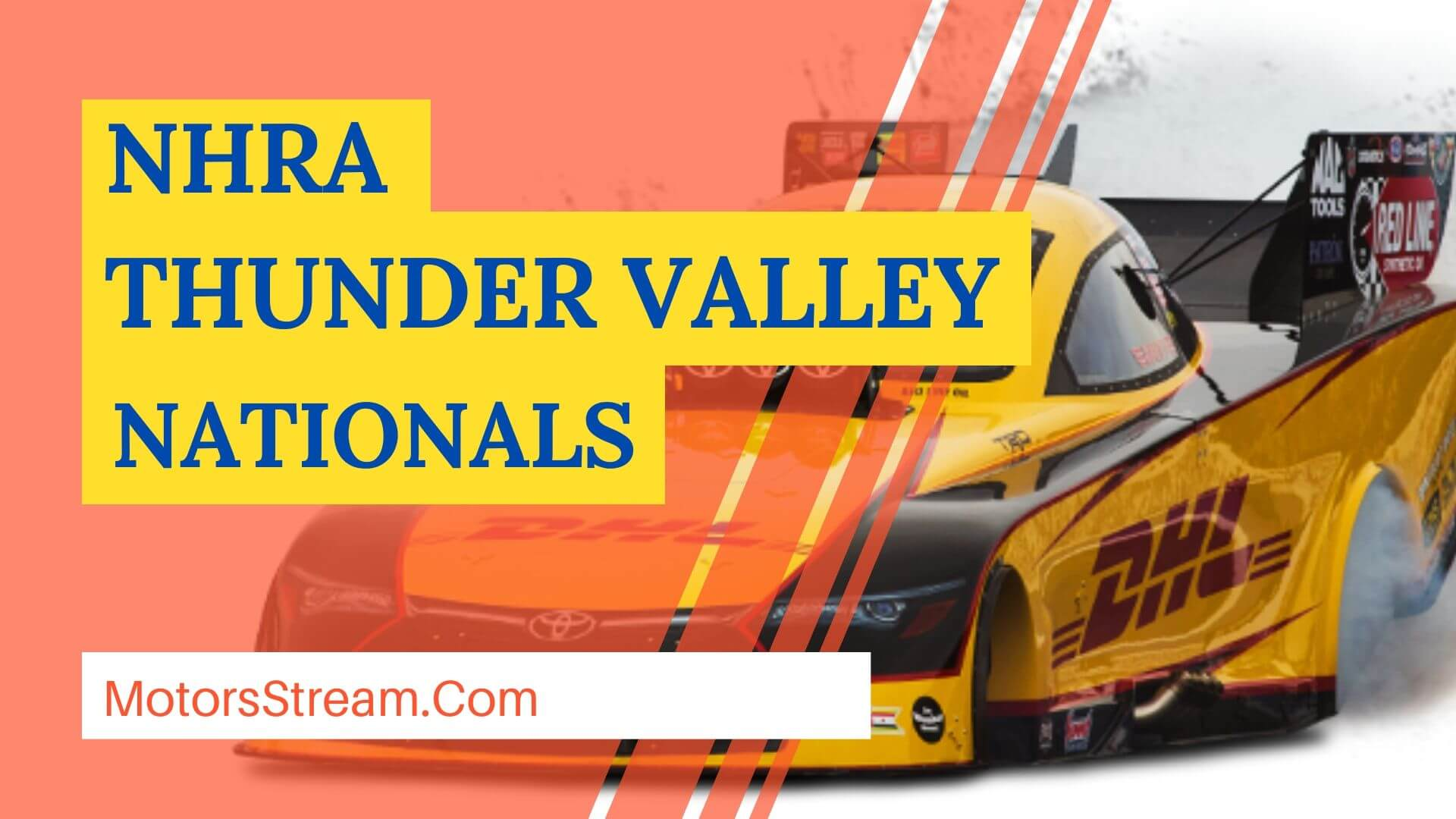 Live NHRA Thunder Valley Nationals 2021