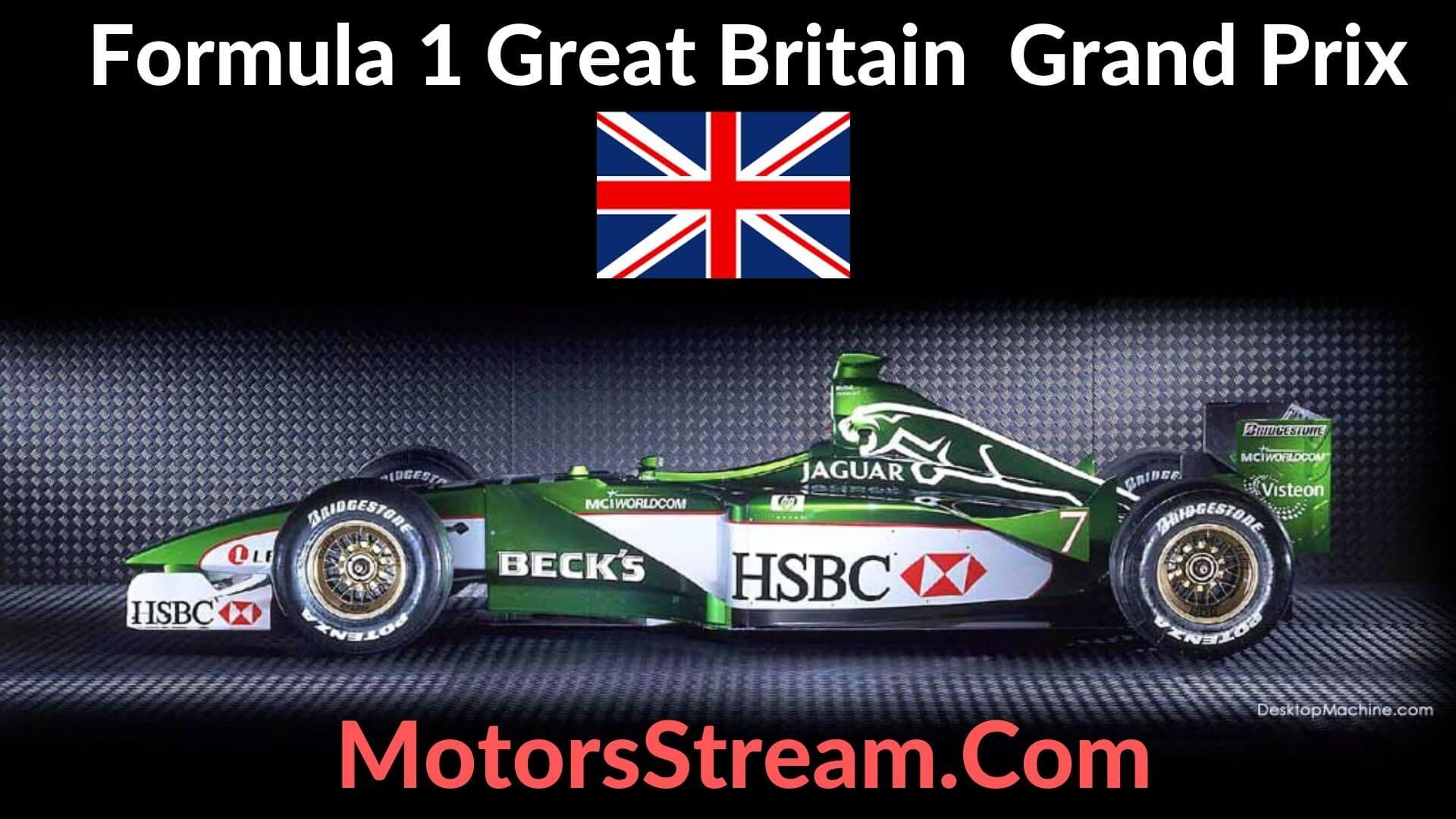 F1 Great Britain GP Live Stream 2021 | Race Replay