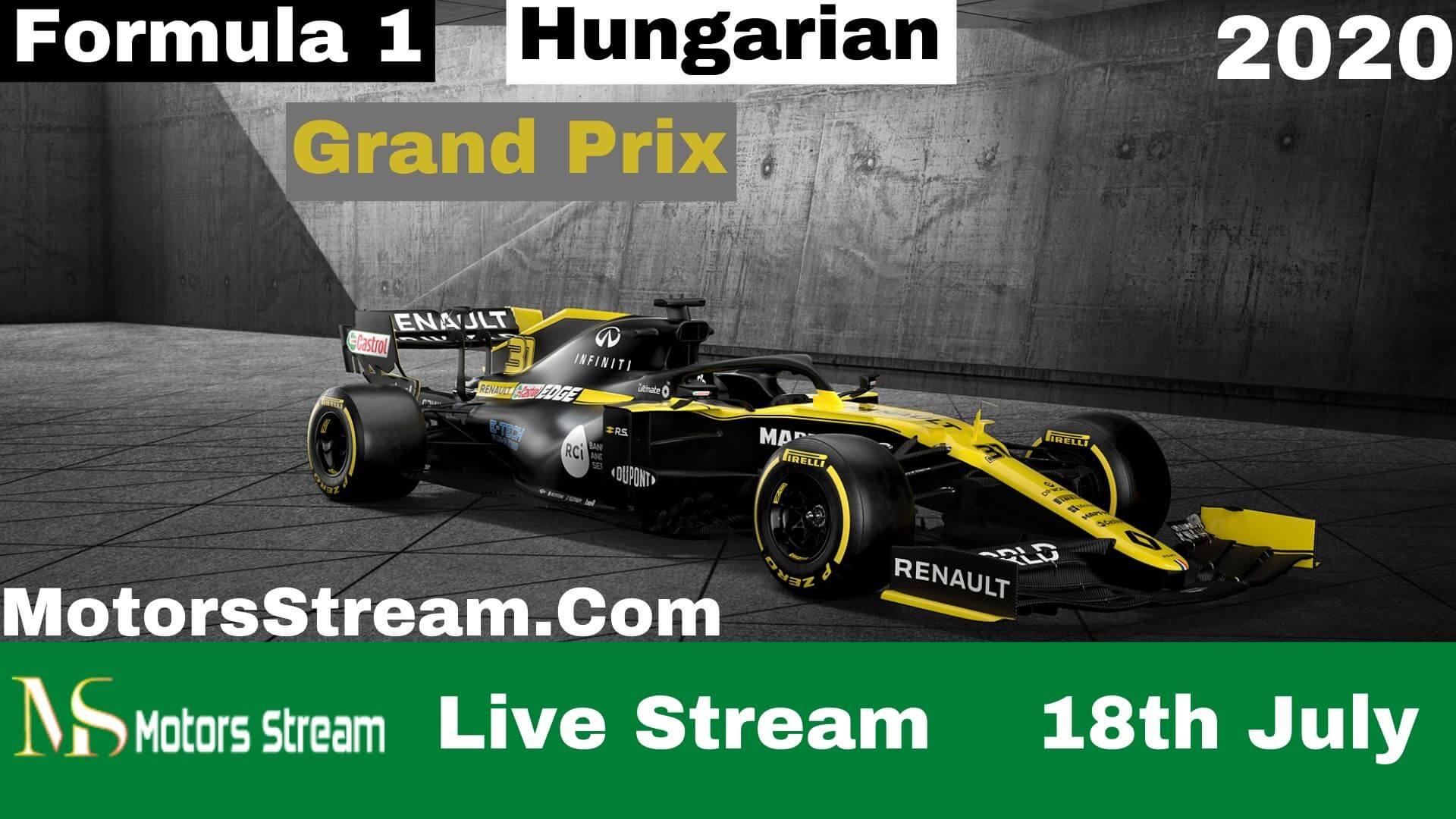 F1 Hungarian GP Live Stream 2021 | Full Race Replay